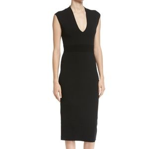 NWOT MICHAEL Michael Kors Midi Jersey Sheath Dress